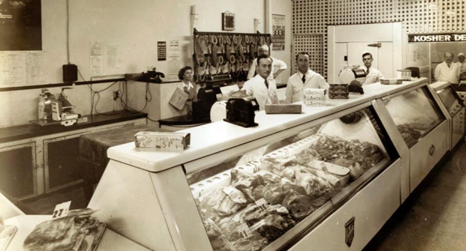 Baker's meat market, Charleston, SC - 1948